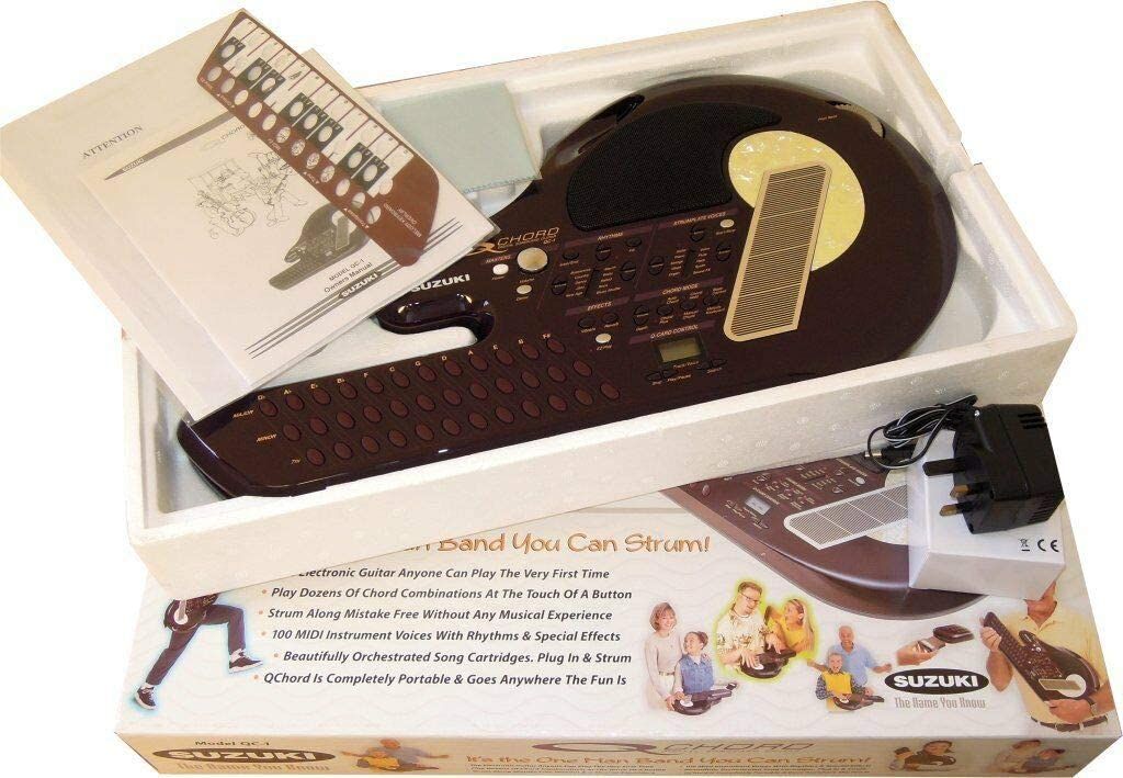 Suzuki QC1 Q Chord - Guitarra de sonido digital: Amazon.es ...
