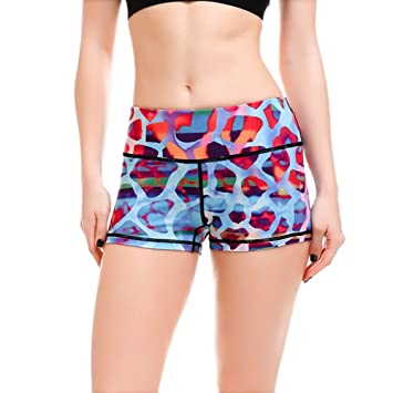 MAYUAN520 Plus Size Mujeres Ejercicios Yoga Shorts S a 4XL ...