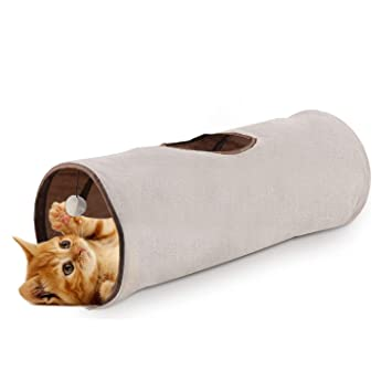 Amazon.com: All for Paws - Túnel plegable para gatos ...