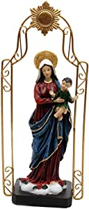 """Comfy Hour 11"""" Religious Virgin Mary and Child Baby Statue, The Blessed Mother of The Immaculate Comception Home Madonna Figurine"""