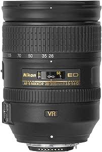 Nikon Nikkor AF-S 28-300mm f3.5-5.6 IF ED VR Lens, Black