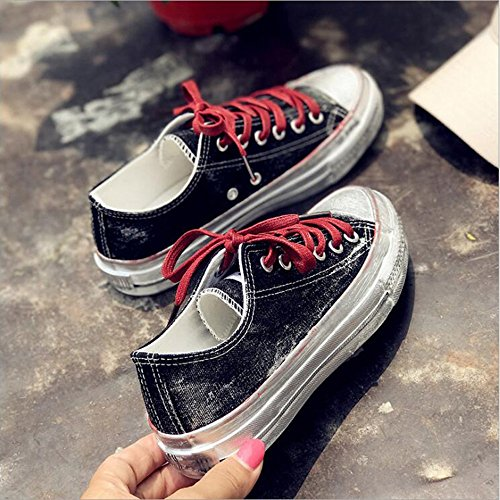 5 Do Old Pour uk5 cn38 Eu38 Blanches Couleur Noir Sales Nan The Taille Chaussures Summer Petites Femmes wSIFYZRFq