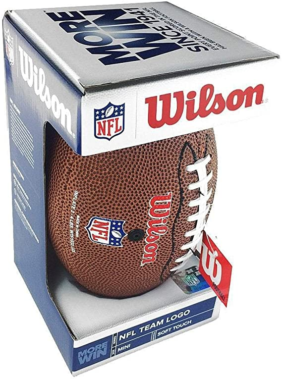 Wilson NFL Team Logo Jacksonville Jaguars Mini balón de fútbol ...