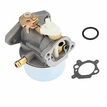 Nuevo carburador Carb Cortacésped 499059 con junta 799869 497586 792253 para Briggs Stratton.: Amazon.es: Jardín