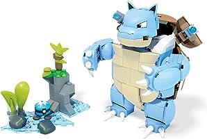 Mega Construx Juego de Construcción Pokémon Blastoise