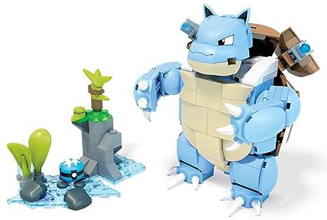 amazon com mega construx pokémon blastoise building set toys games