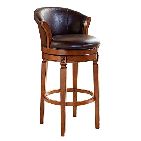 Admirable Amazon Com Cylq Counter Height Swivel Stool Leather Cjindustries Chair Design For Home Cjindustriesco