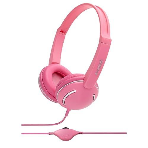 Groov-e Streetz, Kids Headphones with Volume Control, Pink