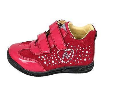 Naturino , Baskets pour fille - Rouge - Rouge, 26 EU