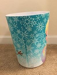 Amazon Com Disney Frozen 100 Plastic Waste Can Home