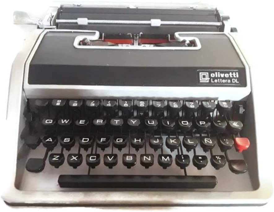 Máquina de escribir Olivetti Lettera DL-Ref.7: Amazon.es ...