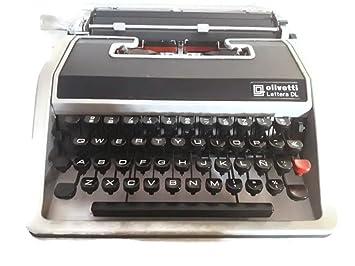Máquina de escribir Olivetti Lettera DL-Ref.7: Amazon.es: Oficina y papelería
