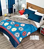 New ''Soccer (Futbol)'' Winter Softy Comforter Twin