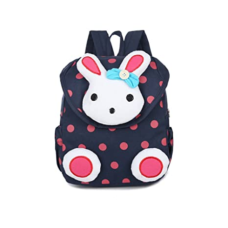 Mochilas Infantiles, Mochilas para bebés Cute Bunny Kids Backpack Little School Bag Toddler Book Bag