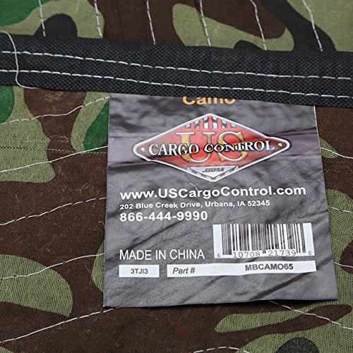 "Moving Blanket (24-Pack) 72"" X 80"" US Cargo Control - Camo (130 Lbs/2 Dozen, Camouflage) by US Cargo Control (Image #1)"