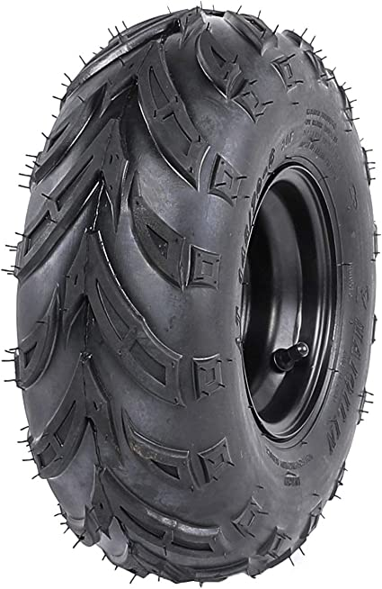 TDPRO 2PCS 145//70-6 Tires With 6 inch Wheels Rims for ATV Go Kart