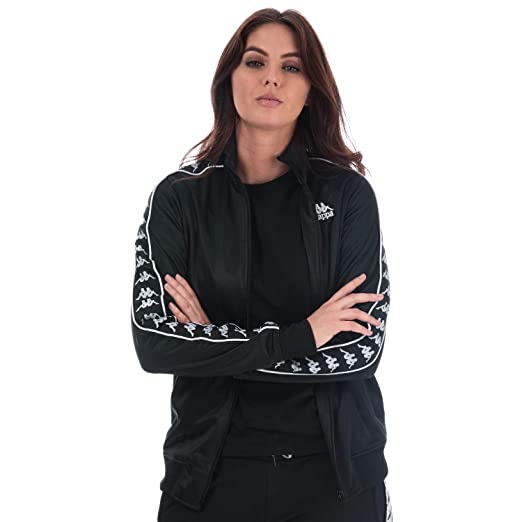 Amazon.com: Kappa - Chaqueta de chupa para mujer (talla M ...