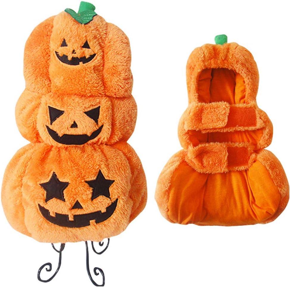 HUILI Disfraz de Disfraz de Mascota de Calabaza de Halloween Traje ...