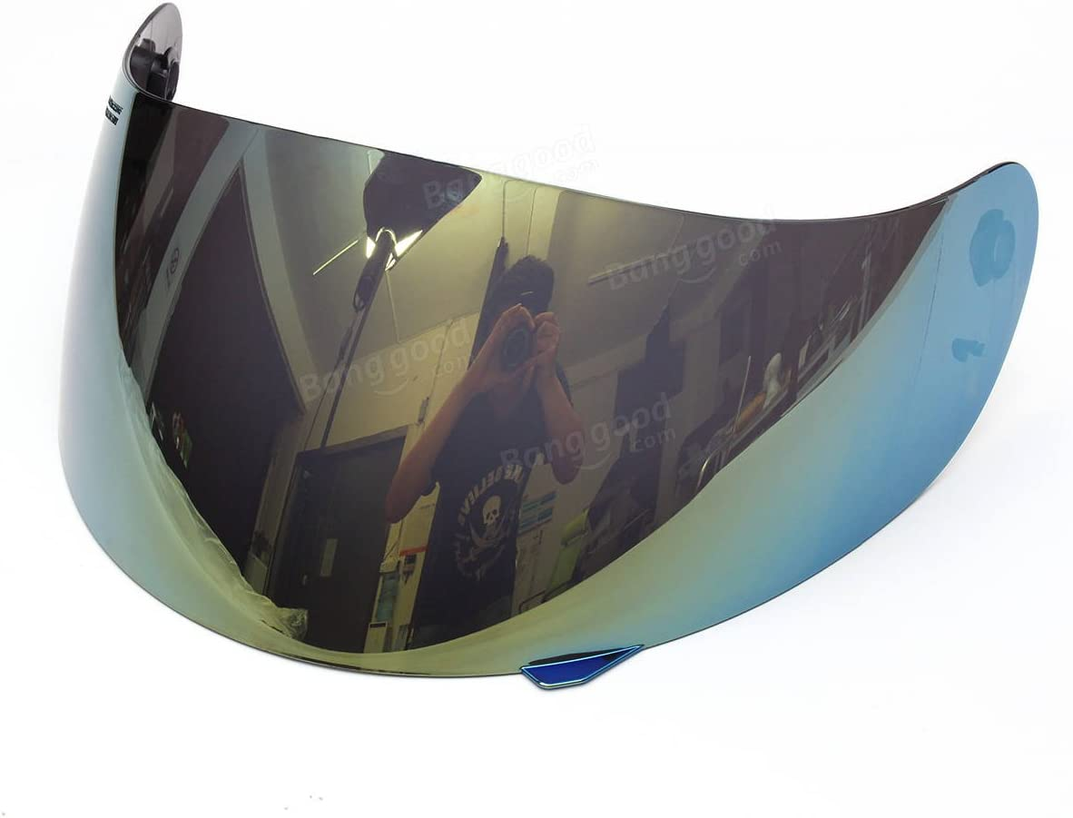 SGerste Full Face Motorcycle Helmet Visor Lens Shield For AGV K3 K4 Motocross Helmet-Colorful