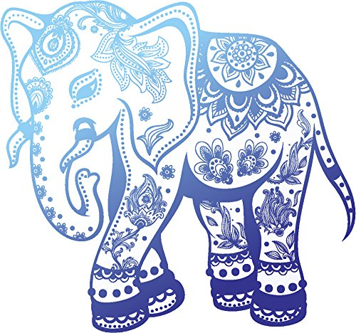 elephant car decal - 7