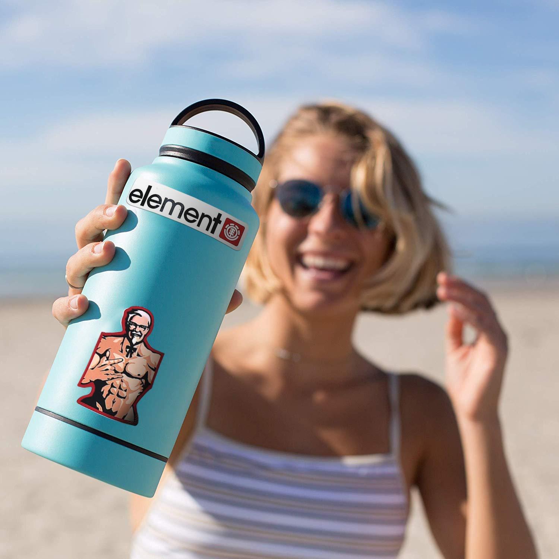Mizzuco Vinyl Stickers Waterproof Graffiti Stickers 100 Pieces for Teens Girls Laptop Bumper Helmet Ipad Car Luggage Water Bottle (100)