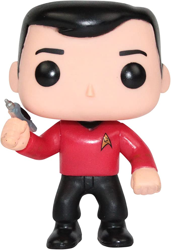 Star Trek The Original Series Scotty Funko POP Vinyl Figure Rare Vaulted