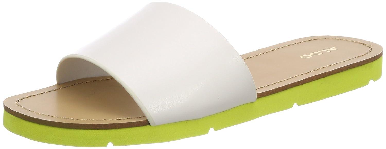 Aldo Gwayni, Pantofole a Collo Basso Donna Bianco (Bright White)