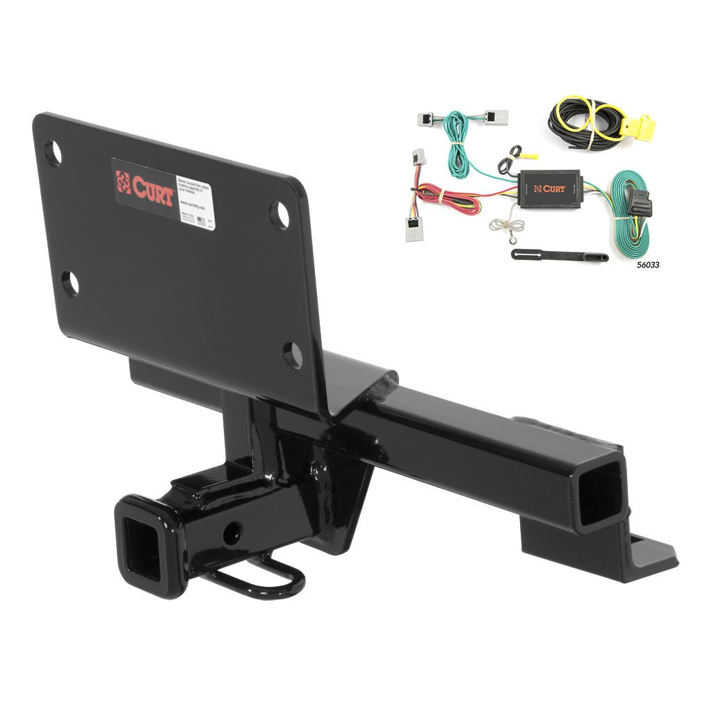 G37-11499 /& 56033 CURT Class 1 Trailer Hitch Bundle with Wiring for Infiniti G35