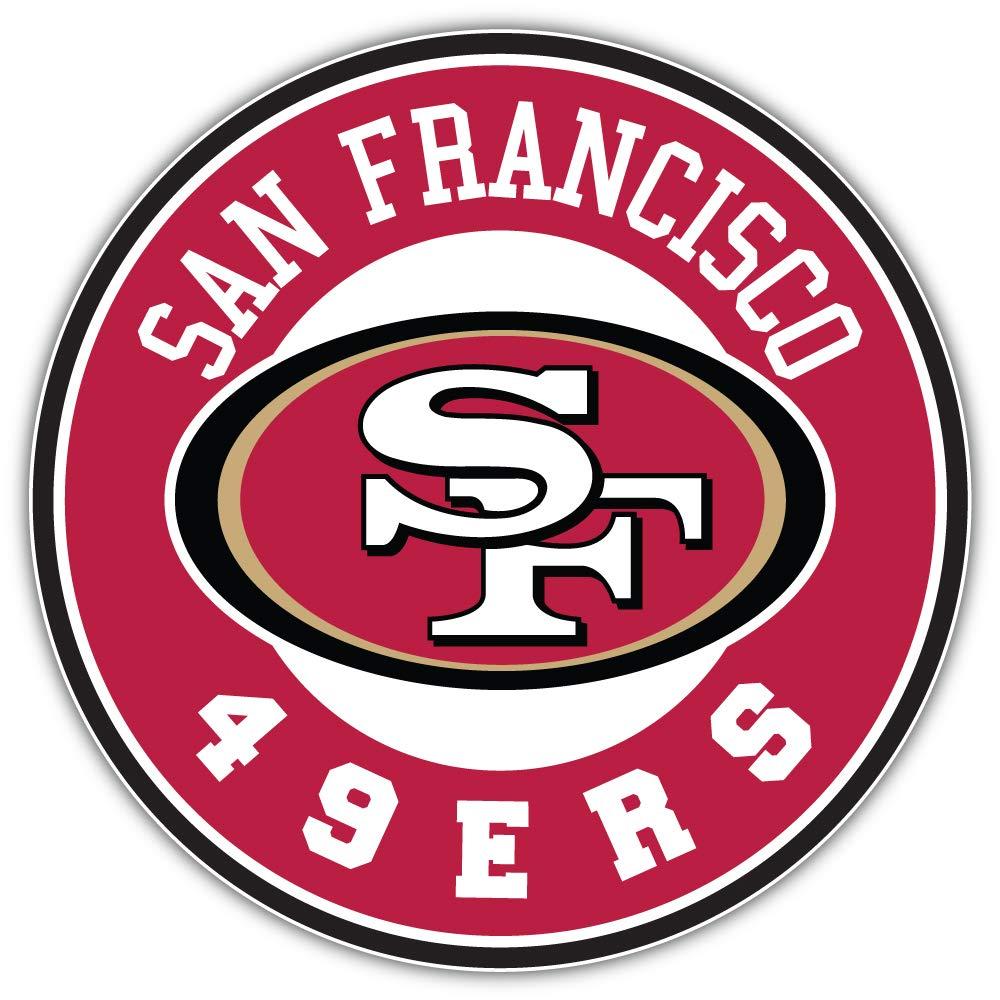 qualityprint San Francisco 49ers NFL Sport Logo Decor Vinyl Sticker 12 X 12