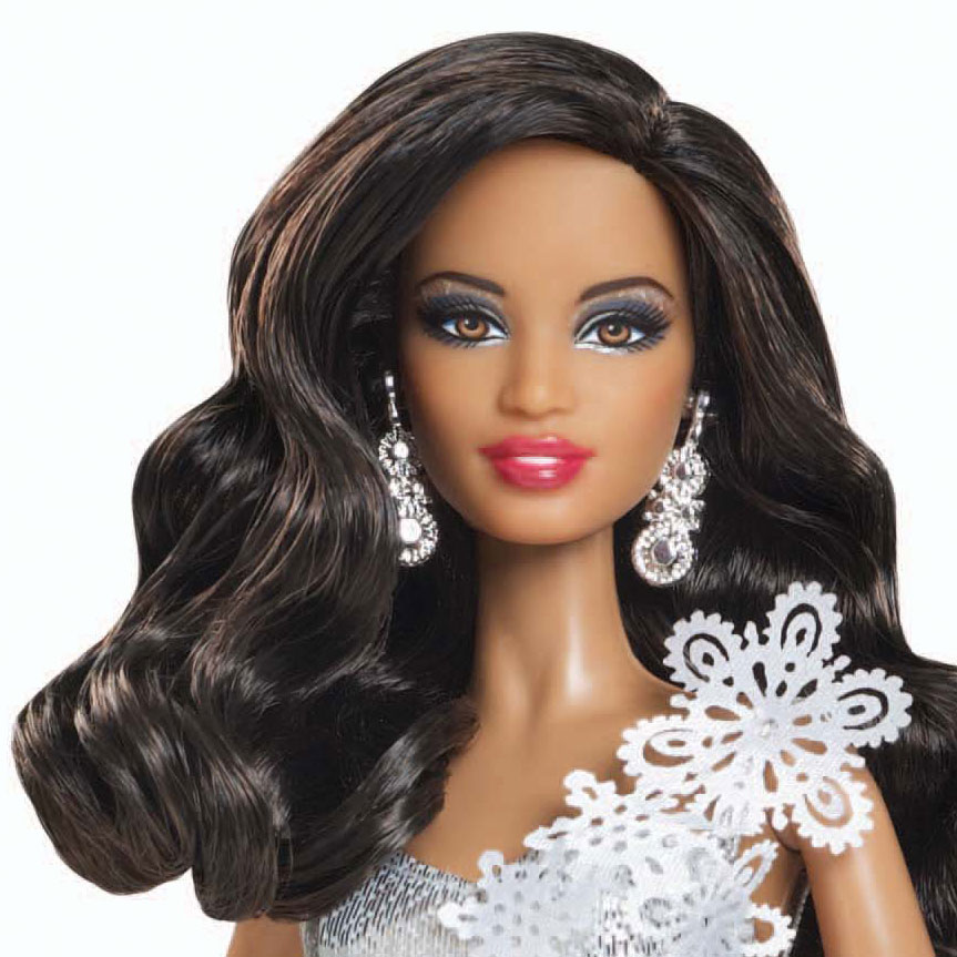 Amazon Com Barbie Collector 2013 Holiday African American