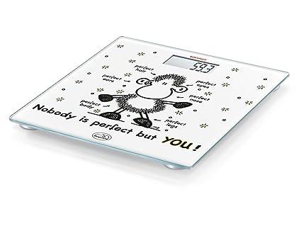 Soehnle 63345 - Báscula de baño, LCD, de plástico, edition Sheepworld, color