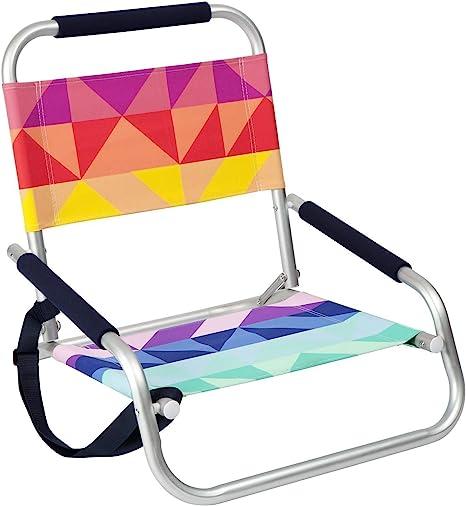 silla pequeña de playa