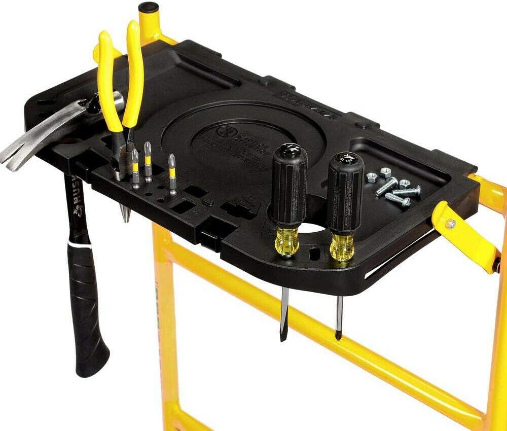 x 2-1//2 ft 900 lb x 4 ft MetalTech Rolling Scaffolding Set 5 ft Load Capacity