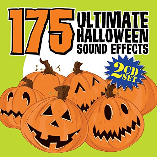 DJ 175 ULTIMATE HALLOWEEN SOUND EFFECTS 2 CD SET ()