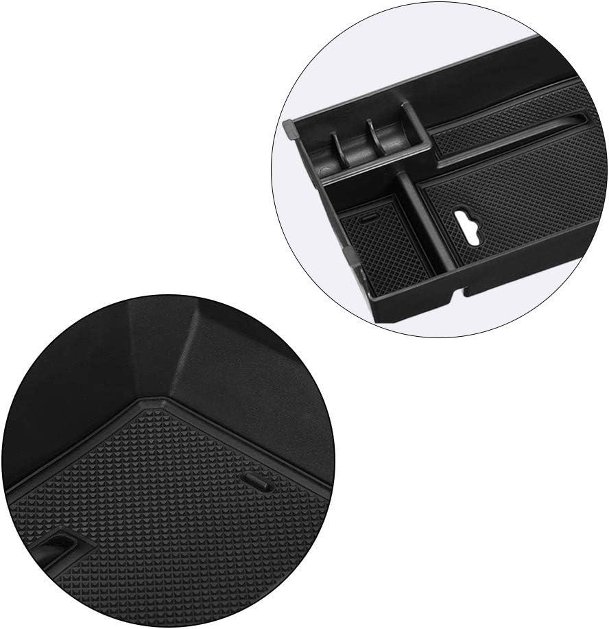 Yuangang Console Car Central Armrest Storage Box for Mercedes Benz C GLC Class W205 C180 C200 C260 C300 GLC200 GLC260 GLC300 Car Central Console Glove Tray