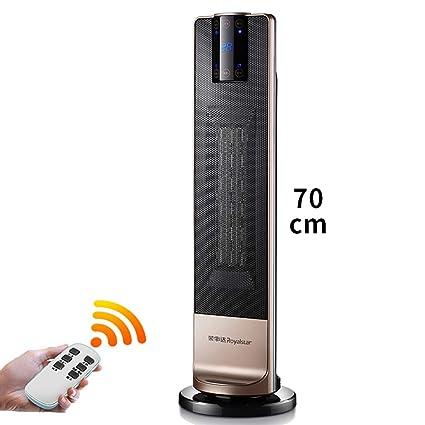 Heater GJM Shop Calentador De Cerámica De PTC De Pie Sobrecalentar & Protección contra Volcaduras 2000W