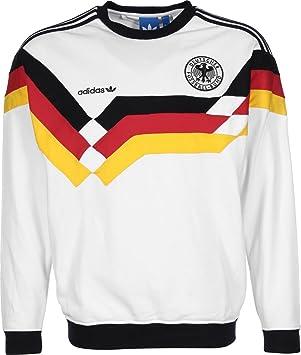 adidas OG DFB Crew - Sudadera para Hombre, Color Blanco/Amarillo/Negro/Rojo, Talla L: Amazon.es: Deportes y aire libre
