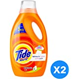 Tide Automatic Whites & Colors Power Gel Detergent - Pack of 2-Pieces (2 x 1.8L)