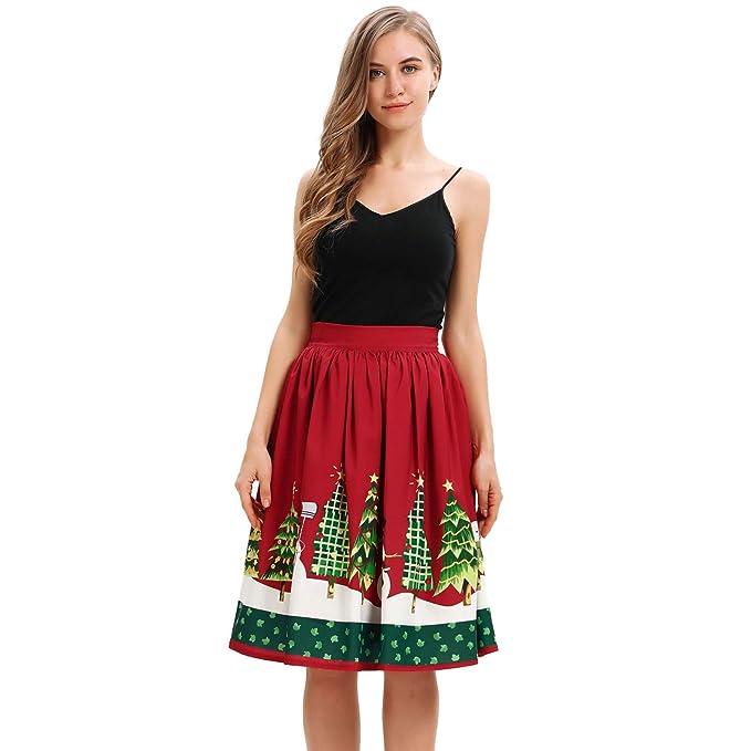 ce8670874 Vectry Faldas Falda Flamenca Mujer Faldas Cortas Mujer Verano Falda ...