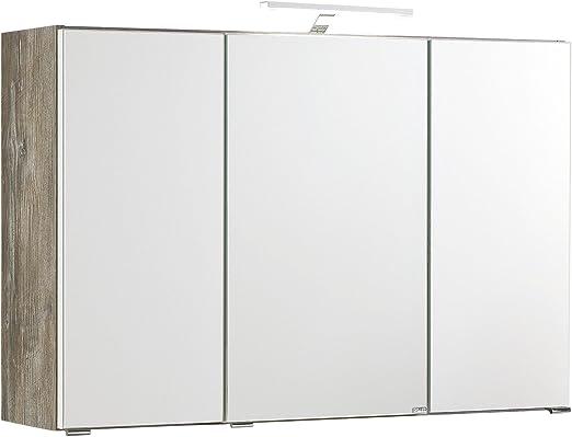 3d Spiegelschrank Bad Badmobel Schrank Spiegel Badezimmerschrank