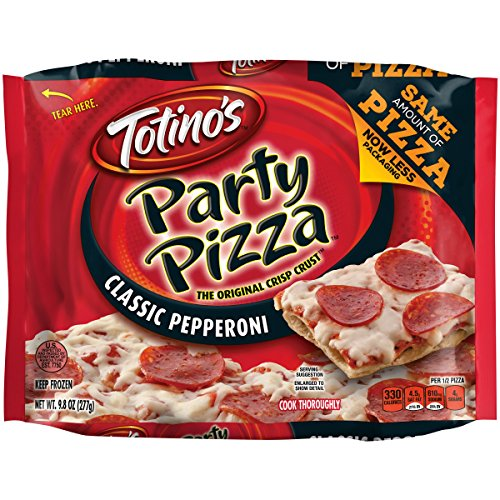 Totino's Party Pizza, Classic Pepperoni, 9.8 oz -