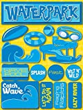 Reminisce Signature Series Dimensional Cardstock Stickers, Water Park