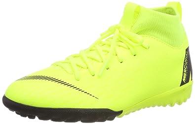 92ac69a80 Nike Unisex-Kinder JR Superfly 6 Academy GS TF Fußballschuhe Mehrfarbig  (Volt Black
