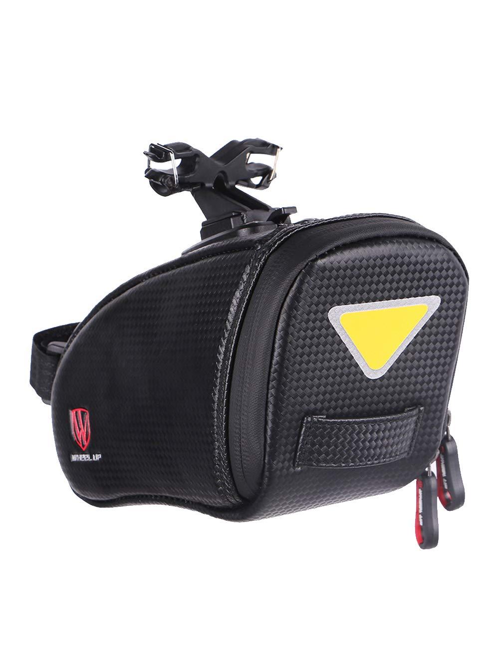 Menschwear 防水ストラップオンバイクサドルバッグ 自転車シートパックバッグ サイクリングウェッジストレージバッグ   B07JFF5RB3