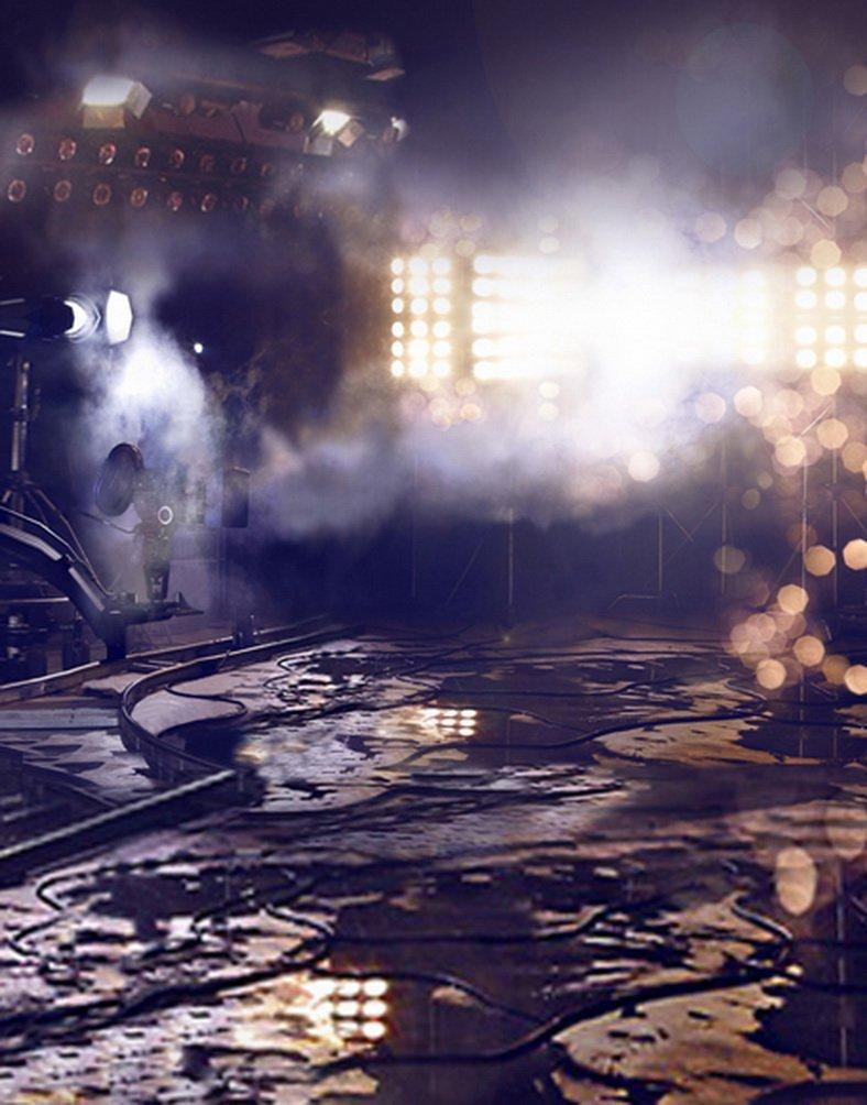暗い部屋写真Backdrops写真小道具Studio背景5 x 7ft   B01GVOQKTS