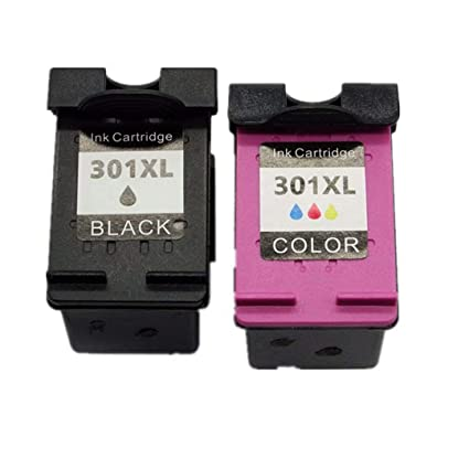 No-Name remanufacturados Cartuchos de Tinta reemplazo para HP 301 XL Deskjet 1050 1050A 1510 1512 1514 2050 2050A 2050se 2054A 1050se 3050se 3050A ...