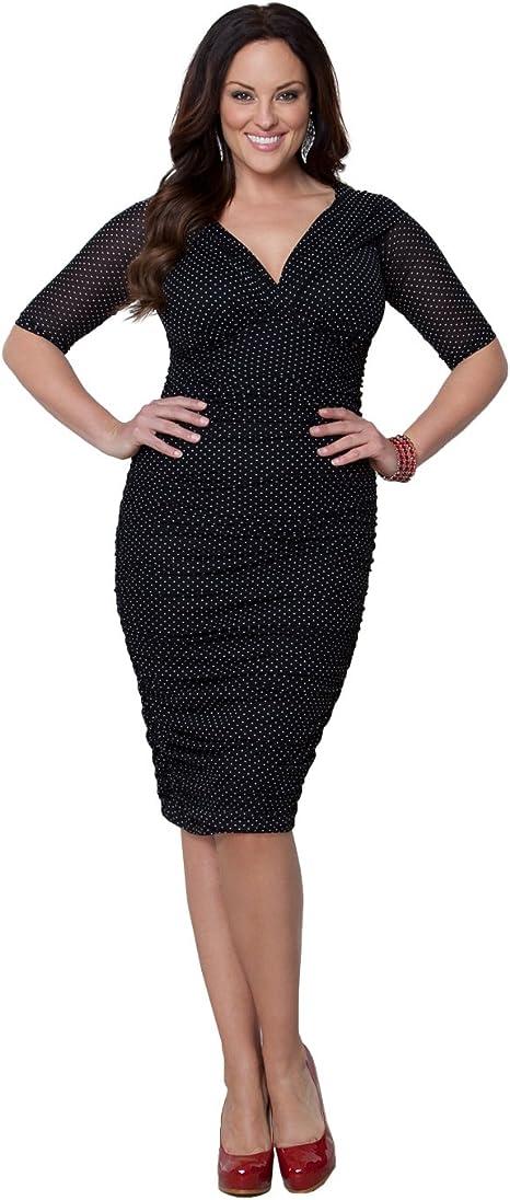 Kiyonna Women\'s Plus Size Betsey Ruched Dress