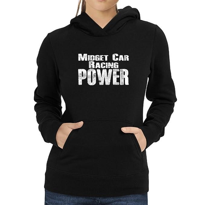 Eddany Midget Car Racing power Sudadera con capucha para mujer: Amazon.es: Ropa y accesorios