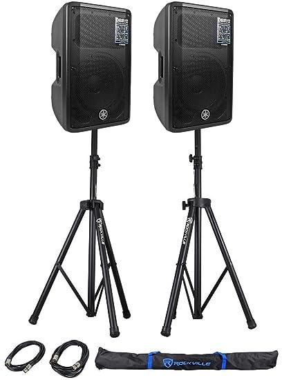Amazon com: Yamaha DBR12 DBR Series Powered Speaker Cabinet