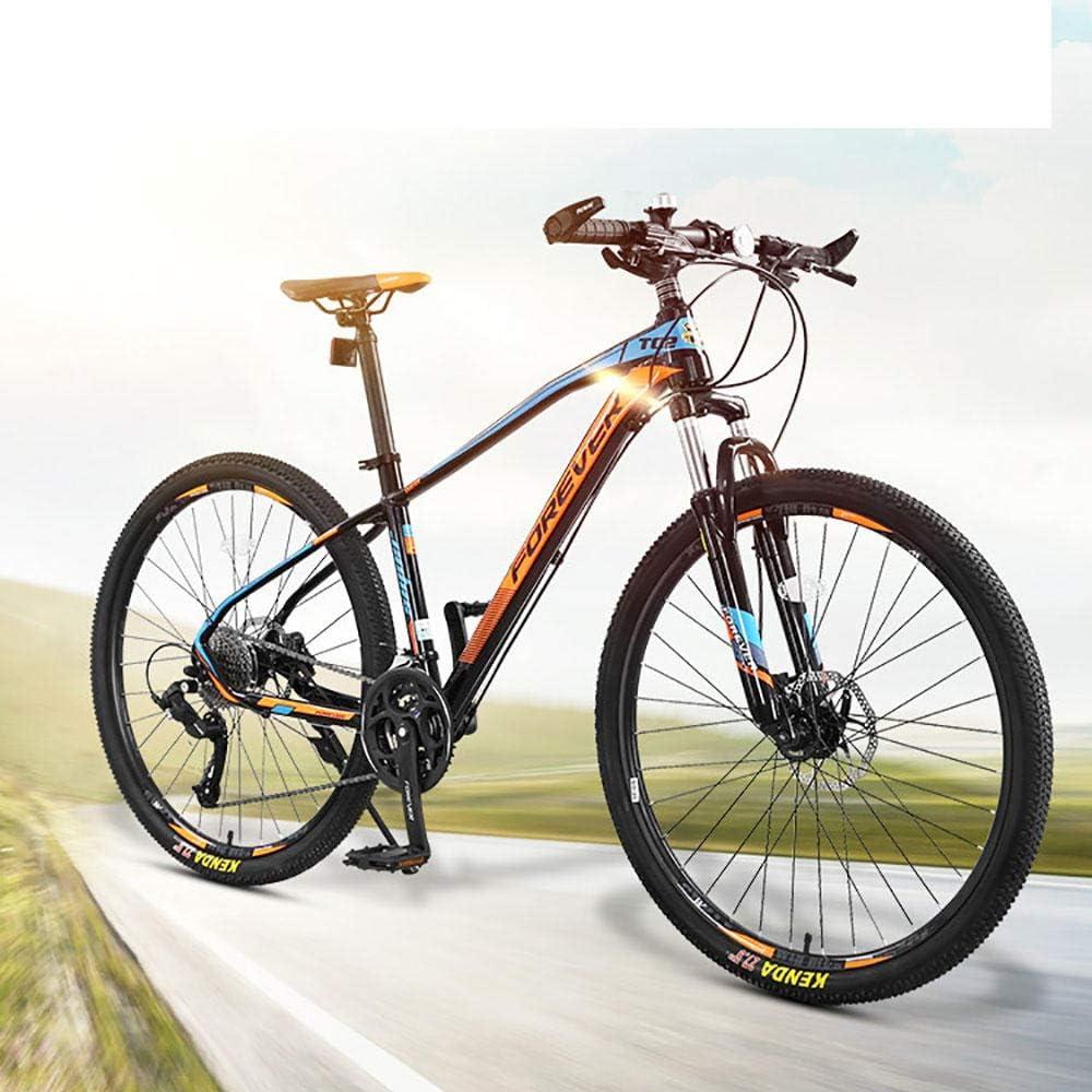 Generies Mountain Bike 27 Velocit/à Bici Da Strada di Montagna Delle Donne Degli Uomini di Studenti Mountain Freni A Disco Della Bicicletta Bici Da Corsa